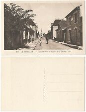 CPA postcard rue Michelet Eglise de la Genette LA ROCHELLE 17 Aquitaine [736 R]