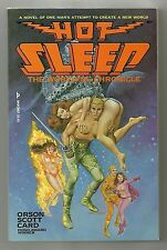 Hot Sleep: The worthing Chronicle, Orson Scott Card, 1st edt, signed, soft cover