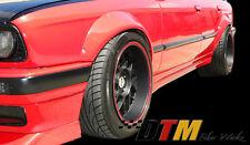 BMW E30 Rivet On Fender Flares '84-'91 2dr & 4dr. Body Kit FRP