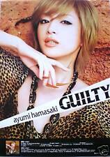 """AYUMI HAMASAKI """"GUILTY-Hand To Chin"""" POSTER -JPop Music"""