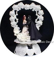 Star War Wedding Cake Topper Bride & Darth Vader Groom cake