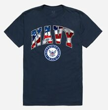 Rapid Dominance US Navy Flag Letters Blue USA thsirt Tee shirt Blau Gr. XXL