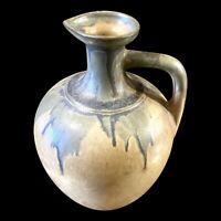Vintage Denbac Cointreau Drip Glaze Pottery Amphora Vase Decanter Liqueur Angers