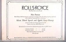 Rolls-Royce PRINT AD - 1932