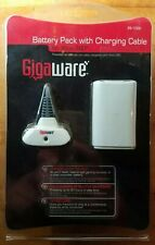 New GigaWare Battery Pack with Charging Cable for Xbox 360 Controller