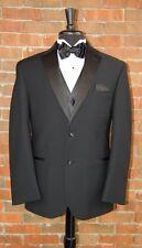 Mens 36 R Black HAMPTON by RALPH LAUREN Notch Tuxedo Jacket / Pant / Shirt / Bow