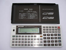Sharp pc-1401/10 KB, Pocket Computer, Basic Calculator, calculadoras #206