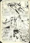 1983+WONDER+WOMAN+%23309+PAGE+8+COMIC+ORIGINAL+ART+BY+DON+HECK+w+BLACK+CANARY