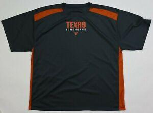Texas Longhorns mens shirt performance athletic burn orange XL unbranded