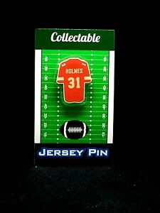 Kansas City Chiefs Priest Holmes jersey lapel pin-Classic team Collectable