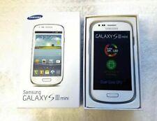 BRAND NEW SAMSUNG GALAXY S3 MINI SIM (unlocked)Mobile phone White Dark Blue