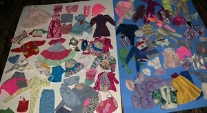 Barbie Doll Mixed Lot Clothing 1980's 1990's Fashion 80+ Pieces Many Tagged