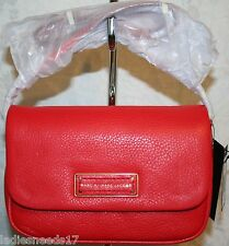 MARC JACOBS CROSSBODY CAMBRIDGE RED LEATHER M0004592