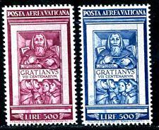 VATIKAN 1951 185-186 ** POSTFRISCH TADELLOS SATZ FLUGPOST 400€(S2120