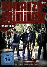 ROMANZO CRIMINALE TV-Serie STAFFEL 2  Francesco Montanari 4 DVD Box Edition Neu