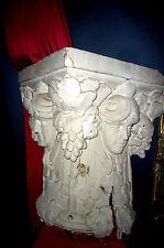 Coincé Pilastre Chapiteau Colonne De Stuc Décoration Art Nouveau Vin