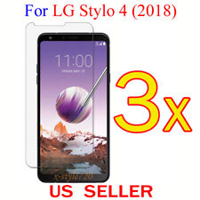 3x Clear LCD Screen Protector Guard Cover Film For LG Stylo 4 (2018)