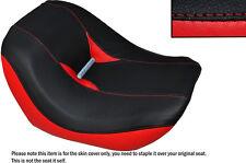 Negro Y Rojo Custom encaja Harley Davidson Vrod Night Rod Special delantera cubierta de asiento