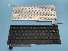 """For Apple Macbook Pro Unibody 15"""" A1286 Azerty French Keyboard 2009-2012 Year"""