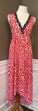 Nearly New Sweet Pea XS Nylons Sleeveless Asymmetrical Hem Maxi Dress