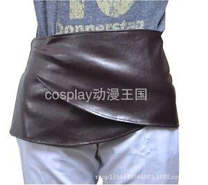 Attack on Titan Shingeki No Kyojin Eren Cosplay PU Apron Skirt Hookshot PK54