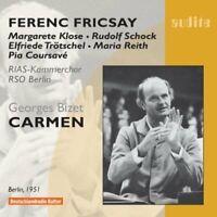 Georges Bizet - Bizet: Carmen excerps (Klose/Schock/RSO Berlin/Fricsay) [CD]