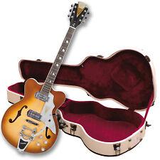 Used-Kay Reissue Jazz II Electric Guitar -w/Hard Case - K775VS Iced Tea Last One