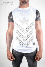 Hip Hop Short Sleeve Regular Size T-Shirts for Men