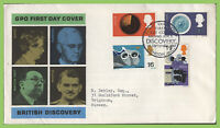 G.B. 1967 Discovery set on GPO First Day Cover, HMS Discovery