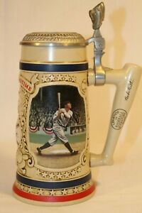 """1993 Babe Ruth """"The Called Shot"""" Beer Stein Bradford Museum Yankees GIFT IDEA"""