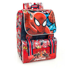 Marvel Spider-Man PREMIUM Red Ergonomic Expandable Backpack Rucksack School Bag