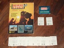 Desert Storm Merlin 1991 Sticker Album, Complete- but, with a twist...