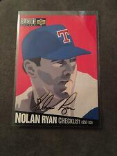Nolan Ryan 1994 Collector's Choice Gold Signature Checklist #320