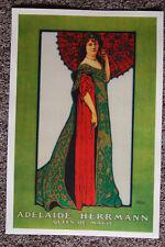 Adelaide Herrmann magician poster #1 1903 Queen of Magic