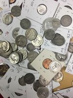 Awesome ESTATE LOT .. Rare Date Coins And Silver In This Huge Lot, Guaranteed !