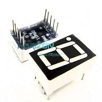 "10PCS Red 7 Segment 0.56"" LED Display Digital Tube Common Anode 1 Bit"