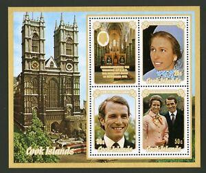 Cook Islands   1973   Scott # 371a    Mint Never Hinged Souvenir Sheet
