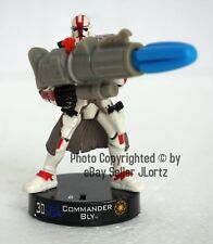 Star Wars Attacktix Commander Bly Battle Figure Series 1 SW-15 Hasbro 2005