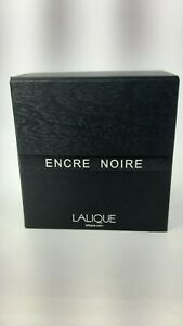 Lalique Encre Noir Eau De Toilette EDT 100ML Spray Mens Perfum NEW