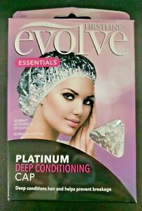 FIRSTLINE Evolve Platinum Deep Conditioning Hair Cap, Prevents Hair Breakage