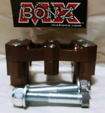 "BAR MOUNT HONDA CRF450R 2002-2020 CRF450RX CRF450RWE HANDLEBAR CLAMP 7/8"" 22mm"
