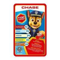 Top Trumps Paw Patrol Fun Children Card Game Red 30 Cards
