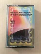 747 Saudi Arabia Weather Report Night Passage Cassette Free US Shipping