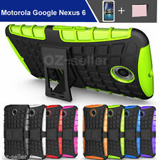 Unbranded/Generic Silicone/Gel/Rubber Mobile Phone Cases, Covers & Skins for Motorola Nexus 6 with Kickstand