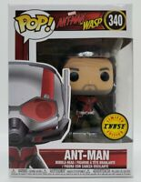 Funko Pop! Marvel Ant-Man and The Wasp #340 Chase Ant-Man + Protector Damaged