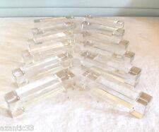 anciens Baccarat cristal 12 porte couteaux art déco boite origine