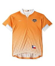 MLS Womens Vomax Short Sleeve Primary Houston Dynamo Cycling Jersey Size S New