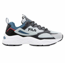 NEW Fila Men's RECOLLECTOR Tennis Shoes Leather and Mesh Gym Sneakers Pick Size