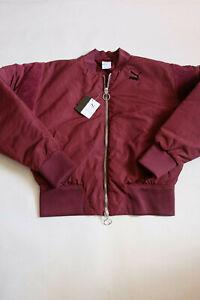 Jacket PUMA Woman Kenza Longsleeved Bomber Fig SIZE S Value