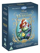 The Little Mermaid I II III: The Complete Collection Blu-ray Disney 1 2 3 Ariel